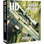 Sound Ideas Military & Weapons HD Sound Effects Hard Drive