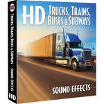 Sound Ideas Trucks /Trains / Buses / Subways HD Sound Effects Library (Download)