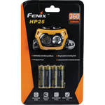 Fenix Flashlight HP25 Dual Beam LED Head Lamp (Yellow)