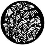 Rosco Steel Gobo #7126 - Jungle Leaves - Size A