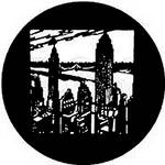 Rosco Steel Gobo #7203 - New York