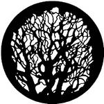 Rosco Steel Gobo #7404 - Tree 4