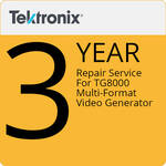 Tektronix 3-Year Repair Service For TG8000 Multi-Format Video Generator