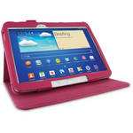 "rooCASE Dual View Folio Case Cover for Samsung Galaxy Tab 3 10.1"" (Magenta)"