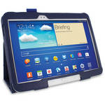 rooCASE Dual Station Folio Case Cover with Stylus for Samsung Galaxy Tab 3 10.1 (Navy)