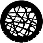 Rosco Steel Gobo #7747 - Tangle - Size A