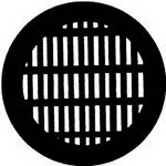 Rosco Steel Gobo #7756 - Grating