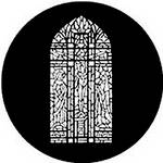Rosco Steel Gobo #7802 - Stained Glass Composite