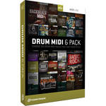Toontrack Pick Six Drum MIDI Pack