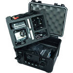Go Professional Cases XB-550 Hard Case for GoPro Camera with Lower Accessories Tray