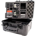 Go Professional Cases XB-652 Case for Two GoPro Cameras with Custom Lower Tray