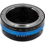 FotodioX Mamiya ZE Pro Lens Adapter with Built-In Iris Control for Fujifilm X-Mount Cameras