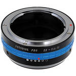 FotodioX Mamiya ZE Pro Lens Adapter with Built-In Iris for Nikon 1 Cameras