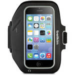 Belkin Sport-Fit Plus Armband for iPhone 5/5s/5c/SE, 5th Generation iPod Touch (Blacktop/Overcast)