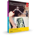 Adobe Photoshop Elements 12 & Premiere Elements 12 for Mac and Windows (Student & Teacher Edition, Download)