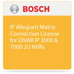 Bosch IP Allegiant Matrix Connection License for DIVAR IP 3000 & 7000 2U NVRs