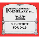Photographers' Formulary Substitute for D-19 Black & White Film Developer (to Make 1 gal Working Solution)