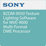Sony BZDM-9050 Texture Lighting Software for MVE-9000 Multi-Format DME Processor