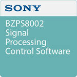 Sony BZPS8002 Signal Processing Control Software