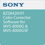 Sony BZS8420/01 Color Corrector Software for MVS-8000G & MVS-8000GSF