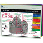 Blue Crane Digital Canon 70D inBrief Laminated Card: A Quick Field Reference for Your Camera Bag