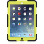 Griffin Technology Survivor Case with Stand for iPad Air (Black/Citron)
