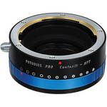 FotodioX Contax N Pro Lens Adapter with Built-In Iris Control for Micro Four Thirds Cameras