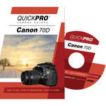 QuickPro DVD: Canon 70D Instructional Camera Guide