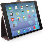 Macally Protective Case & Stand for iPad Air (Wine)