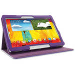 rooCASE Dual View Folio Case Cover for Samsung Galaxy Note 10.1 (2014 Ed.) (Purple)