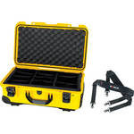Nanuk Protective 935 Case with Padded Dividers & Shoulder Strap (Yellow)