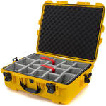 Nanuk 945 Case with Padded Dividers (Yellow)