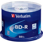 Verbatim 25GB BD-R Blu-ray 6x Discs (50-Pack Spindle)