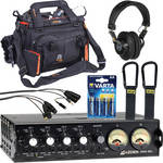 Azden FMX-42a 4-Channel Mixer Deluxe Kit