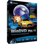 Corel WinDVD Pro 11 DVD and Blu-ray Player Software (Electronic Download)