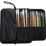 Start by Prat Expandable Brush Case for Small-Handle Brushes