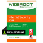 Webroot SecureAnywhere Internet Security Plus (Download, 3 Devices, 1 Year)