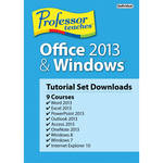Individual Software Professor Teaches Office 2013 & Windows Tutorial Set (Download)
