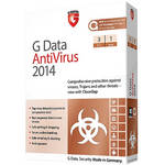 G Data Software Antivirus 2014 Software Download (3 PC, 1-Year)