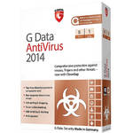G Data Software Antivirus 2014 Software Download (5 PC, 1-Year)