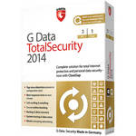 G Data Software Total Security 2014 Software Download (3 PC, 1-Year)