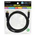 Xtreme Cables Mini-HDMI to HDMI High-Speed Cable with Ethernet (6')