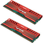 Patriot Viper 3 8GB (2 x 4GB) DDR3 CL9 1600 MHz Memory Kit (Venom Red)