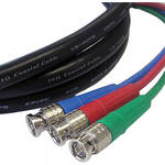 Canare 3 BNC Male to 3 BNC Male 3 Channel SDI Video Cable (15')