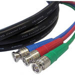 Canare 3 BNC Male to 3 BNC Male 3 Channel SDI Video Cable (100')
