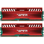Patriot Viper 3 16GB (2 x 8GB) DDR3 CL10 1866 MHz Memory Kit (Venom Red)