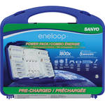 Sanyo eneloop Starter Kit with Case (2nd Generation)