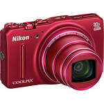 Nikon COOLPIX S9700 Digital Camera (Red)
