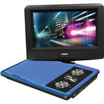 "Impecca 7"" Portable 270° Swivel DVD Player (Blue)"