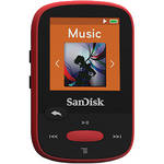 SanDisk 4GB Clip Sport MP3 Player (Red)